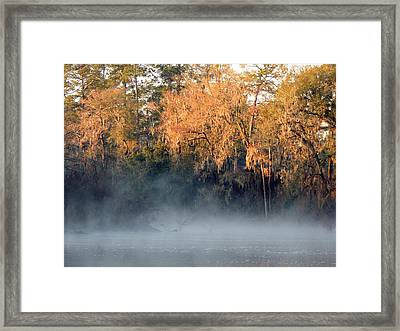 Flint River 14 Framed Print
