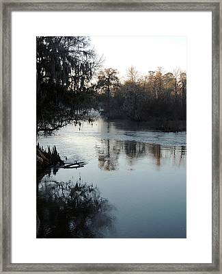 Flint River 20 Framed Print
