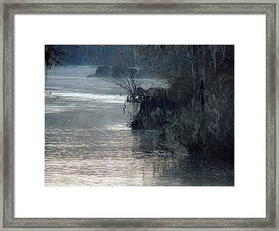 Flint River 28 Framed Print