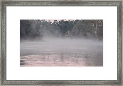 Flint River 3 Framed Print