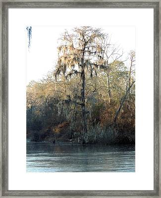 Flint River 30 Framed Print