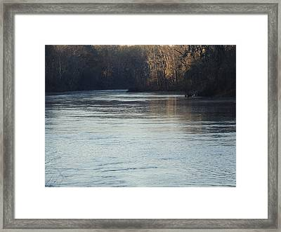 Flint River 31 Framed Print