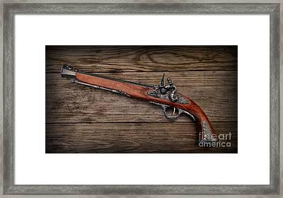 Flintlock Blunderbuss Pistol 1 Framed Print