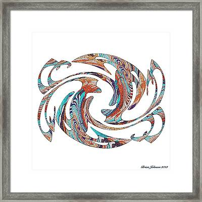 Flippin Fancy 1 Framed Print