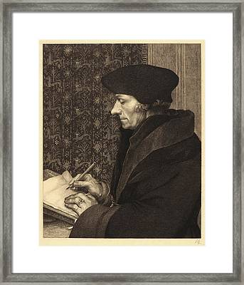 Félix Bracquemond French, 1833 - 1914 After Hans Holbein Framed Print by Litz Collection