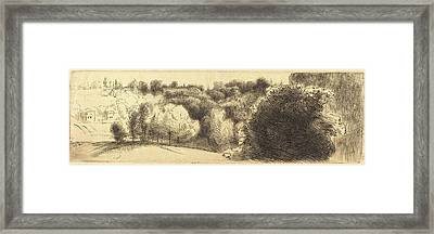 Félix Bracquemond French, 1833 - 1914 Framed Print by Quint Lox