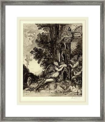 Félix Bracquemond, La Dionade, French, 1833-1914 Framed Print