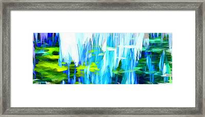 Float 1 Horizontal Framed Print by Angelina Vick