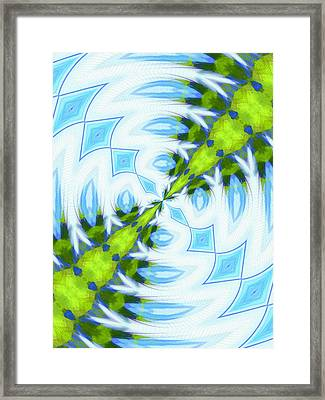 Float 1 Pattern Framed Print