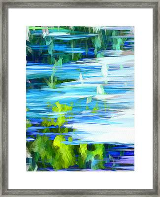 Float 1 Vertical Framed Print