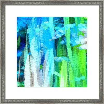 Float 2 Excerpt Framed Print by Angelina Vick