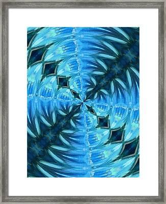 Float 2 Pattern Framed Print