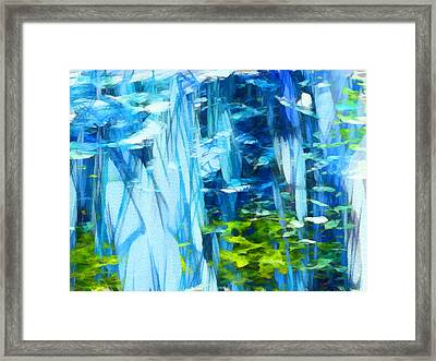 Float 3 Framed Print by Angelina Vick