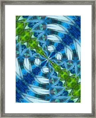 Float 3 Pattern Framed Print by Angelina Vick
