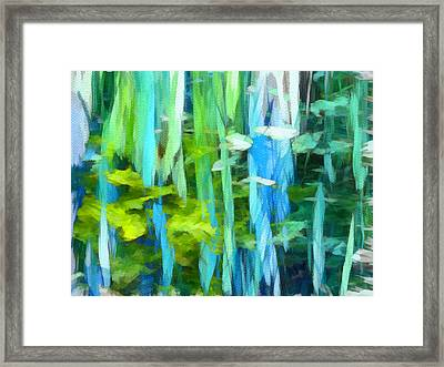 Float 4 Framed Print by Angelina Vick