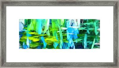 Float 4 Horizontal Framed Print by Angelina Vick