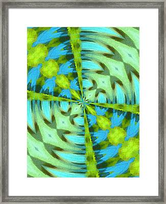 Float 4 Pattern Framed Print