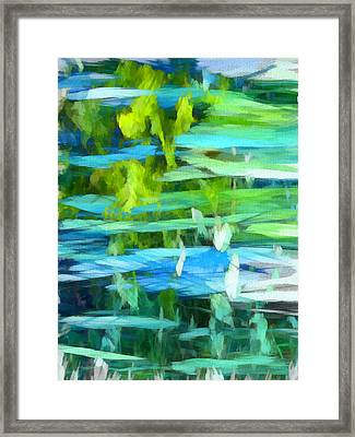 Float 4 Vertical Framed Print by Angelina Vick