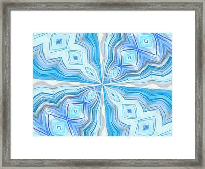 Float Abstract Pattern 2 Framed Print