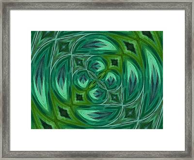 Float Abstract Pattern 3 Framed Print