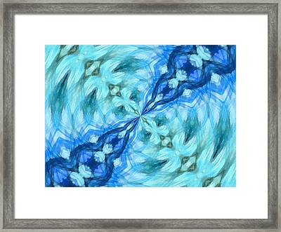 Float Abstract Pattern 4 Framed Print