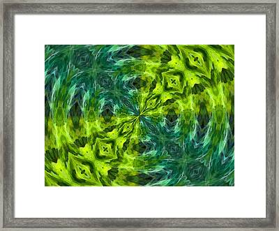 Float Abstract Pattern 5 Framed Print