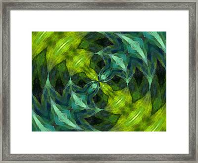 Float Abstract Pattern 7 Framed Print