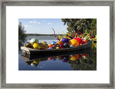Float Boat Framed Print