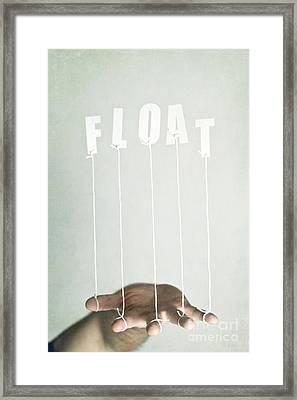 Float Framed Print by Catherine MacBride