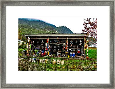 Float House Framed Print by Robert Bales