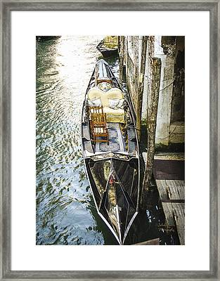 Float In Style Framed Print by Julie Palencia