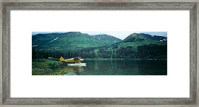 Float Plane Kenai Peninsula Alaska Usa Framed Print
