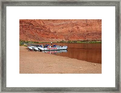 Float Your Boat Framed Print by Elizabeth Sullivan