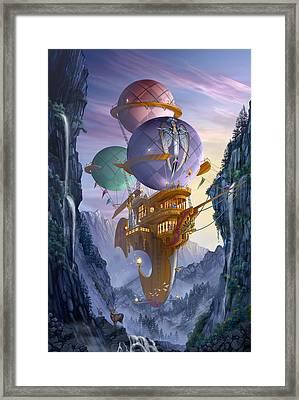 Floatilla Framed Print