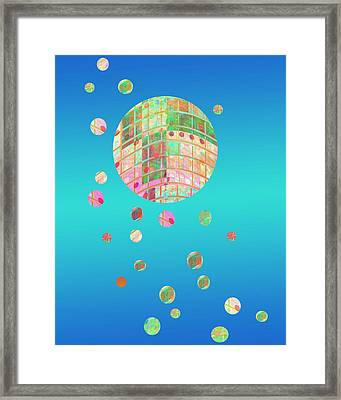 Floating  Framed Print by Ann Powell