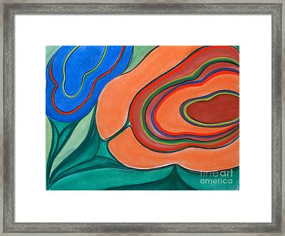 Floating Blossoms Framed Print