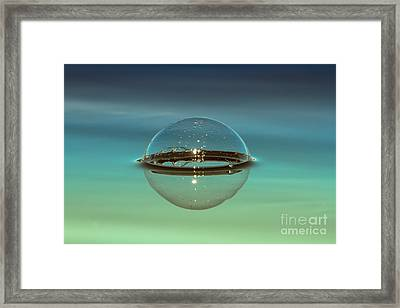 Floating Bubble Framed Print by Heidi Piccerelli