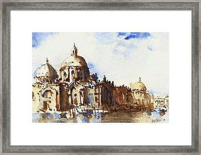 Floating City Framed Print