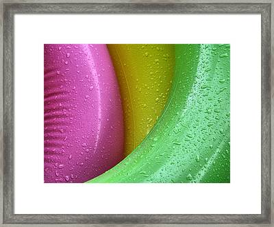 Floating Color  Framed Print by Michael Barbee