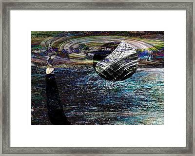 Floating Element- Elementos Flotantes Framed Print