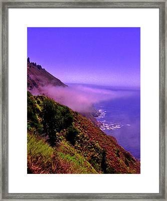 Floating Fog Framed Print by Sharon Costa