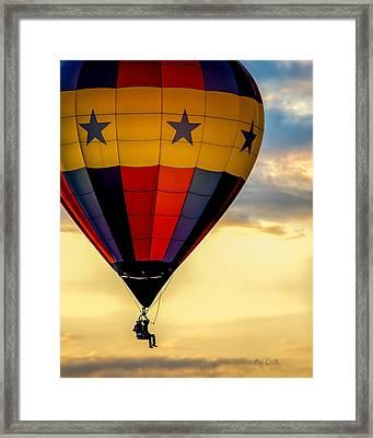 Floating Free  Framed Print by Bob Orsillo