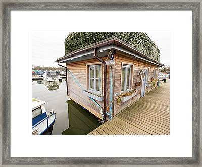 Floating House Framed Print by Ashley Cooper
