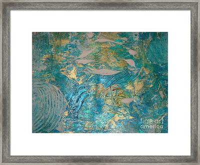 Floating II Framed Print