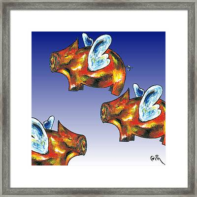 Floating IIi Framed Print