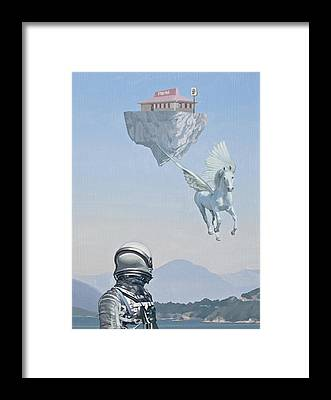 Pegasus Framed Prints