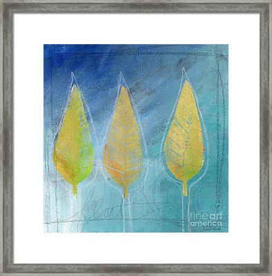 Floating Framed Print by Linda Woods