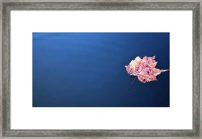 Floating On Framed Print