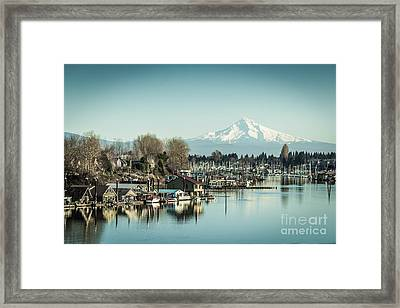 Floating World Framed Print by Patricia Babbitt