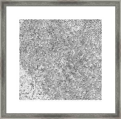 Flock House Virus Particles Framed Print by Thomas Deerinck, Ncmir